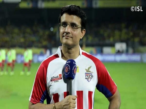 ATK Mohun Bagan Director, Sourav Ganguly (Photo/ ISL)