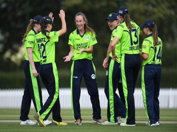 Ireland women's team (Photo/ Ireland Women's Cricket Twitter)