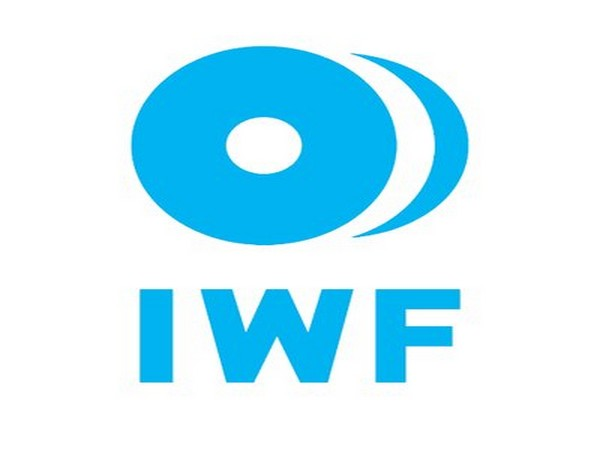 International Weightlifting Federation )IWF) logo