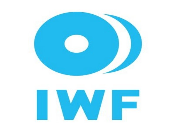International Weightlifting Federation logo.