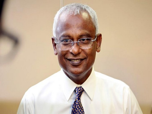 Maldivian President Ibrahim Mohamed Solih (File photo)