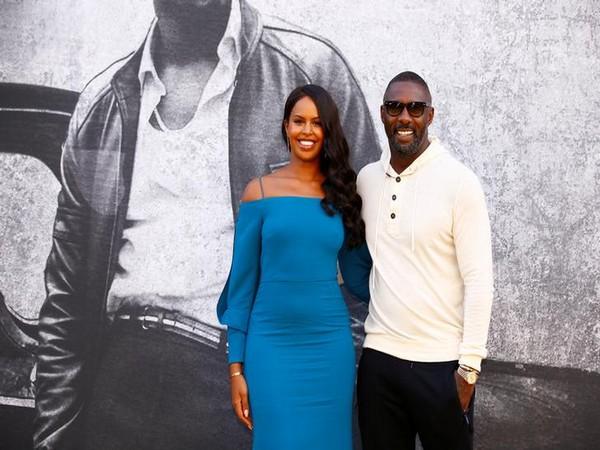 Sabrina Dhowre with husband Idris Elba