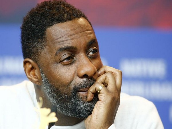Idris Elba at a news conference
