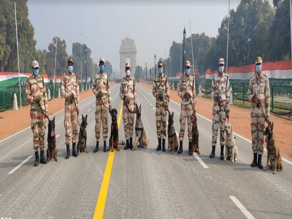 Delhi Police had requested ITBP to deploy its crack K9 team for deployment to sanitise and secure the area around India Gate and Rajpath.