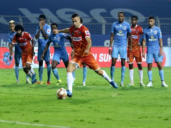 FC Goa forward Igor Angulo (Photo/ ISL)