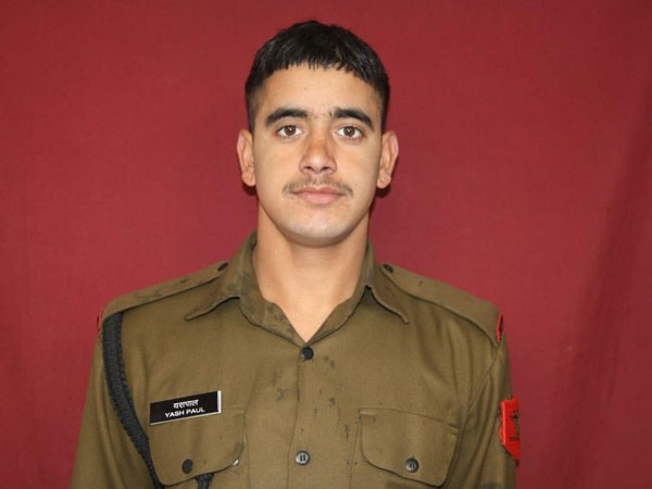 Army rifleman Yash Paul lost his life in ceasefire violation by Pakistan in Sunderbani sector on Thursday. Photo/ANI