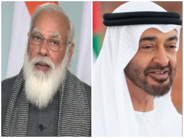 Prime Minister Narendra Modi spoke on the telephone with Abu Dhabi crown prince Sheikh Mohammed Bin Zayed Al Nahyan.
