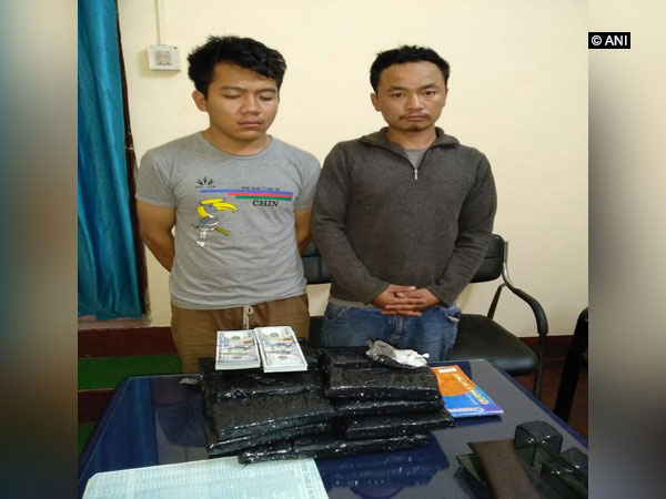 Two people caught with around Rs 3.75 crore in Guwahati on Saturday.