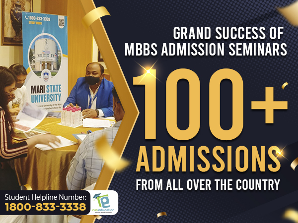 Students have enrolled in Perm State Medical University, Orenburg State Medical University and Mari State University, etc to pursue MBBS in Russia
