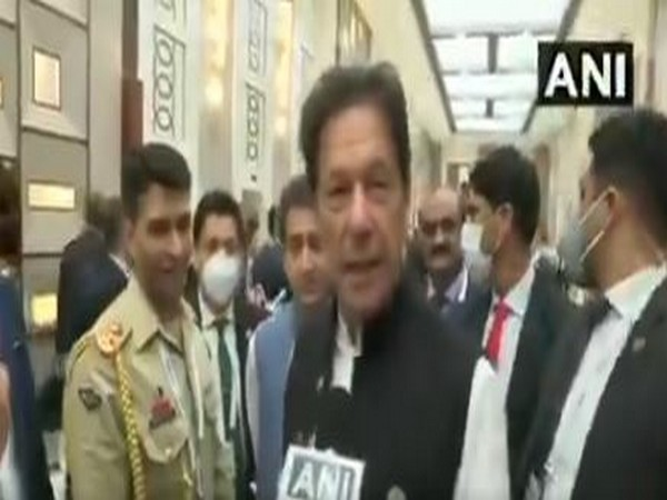 Imran Khan dodging questions on Afghan crisis (ANI)