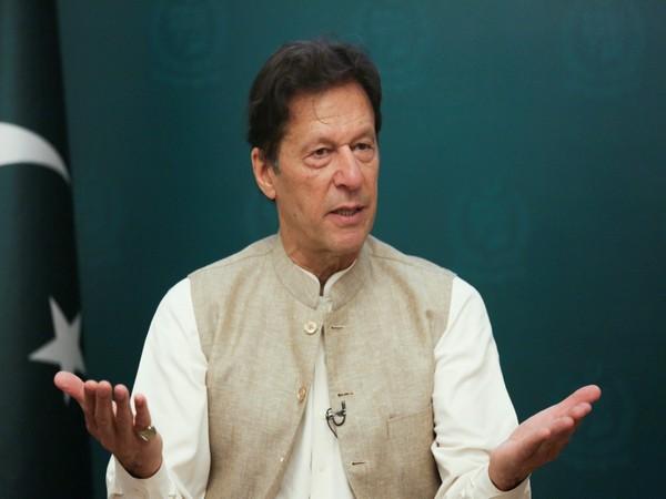 Pakistani Prime Minister Imran Khan.