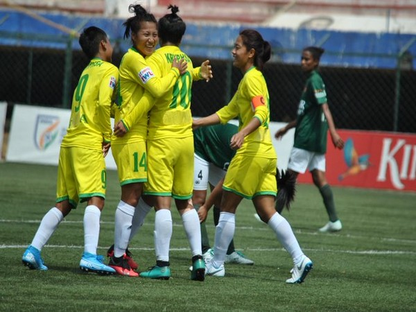 KRYPHSA players celebrating after scoring a goal. (Photo/Indian Football Team Twitter)