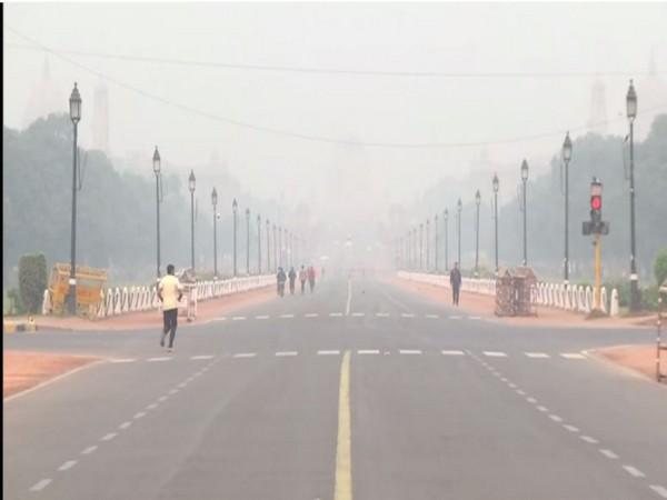 A visual from India Gate [Photo/ANI]