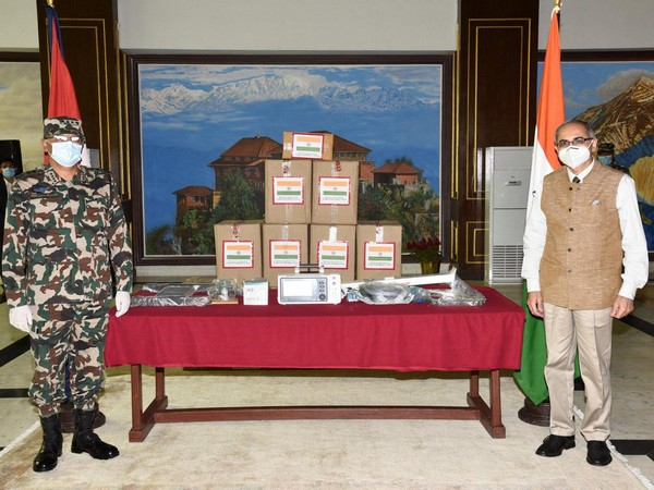 On August 9, India handed over 10 ventilators worth Rs 28 million to Nepal for helping the Himalayan nation to fight the COVID-19 pandemic.