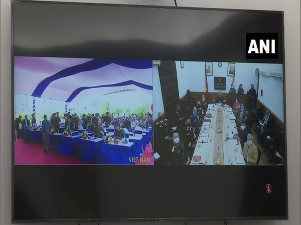 13th India-Vietnam Defence Security Dialogue via video conference held on Tuesday (ANI)
