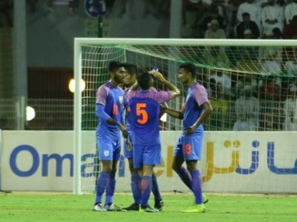 Oman defeated India by 1-0 in the ongoing World Cup qualifiers. (Photo/ Indian Football Team Twitter)
