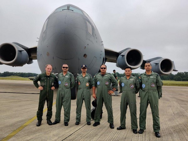 An Indian Air Force contingent landed at Air Force Base, Mont-de-Marsan, France on Friday.