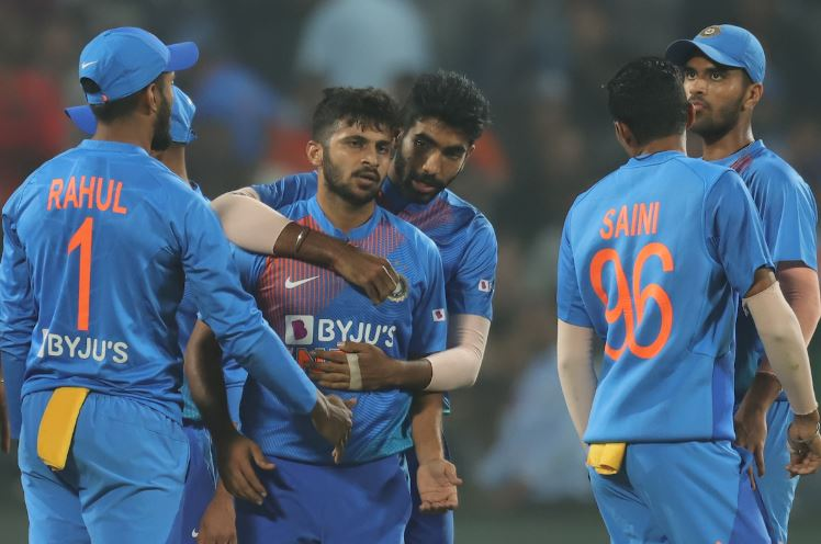 India won the three-match T20I series by 2-0 as the first game was abandoned due to rain. (Photo/ BCCI Twitter)