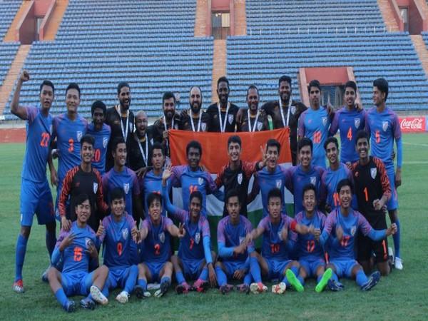 India U-16 team
