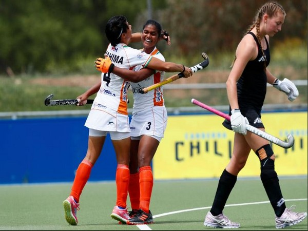 Indian Junior Women's hockey team defeats New Zealand by 4-1