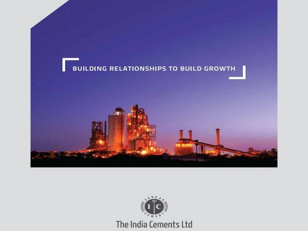 The company is a leading cement manufacturer with strong presence in South India.