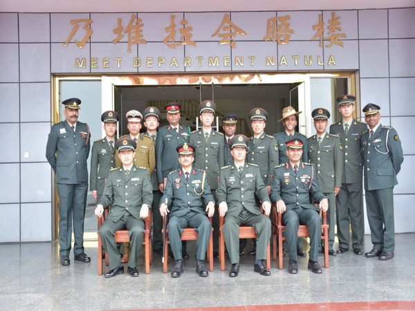 An Indian Army delegation took part in special BPM held at Nathu La to celebrate 92nd anniversary of the foundation of PLA.