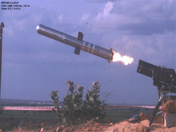 India on Wednesday successfully test-fired the man-portable Anti Tank Guided Missile (MP-ATGM) from a firing range in Andhra Pradesh's Kurnool.