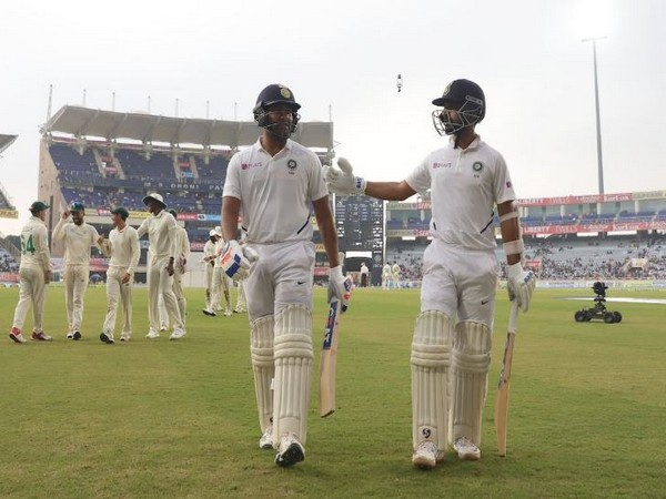 India will resume their innings from 224/3 on Day Two against South Africa. (Photo/ BCCI Twitter)