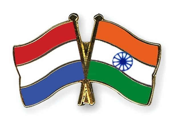 India and Netherlands flag