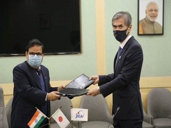Mohapatra (left) with Matsumoto in New Delhi