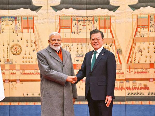 Prime Minister Narendra Modi and South Korean President Moon Jae-in (File photo)