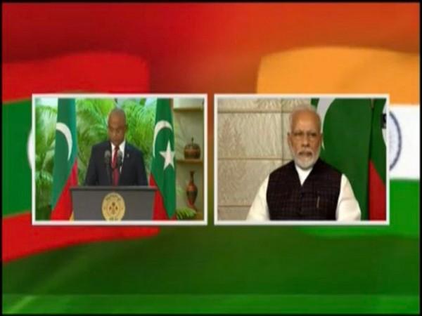 Maldives President Ibrahim Mohamed Solih and Prime Minister Narendra Modi