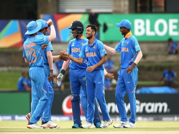 India U-19 Cricket team (Image: Cricket World Cup Twitter)