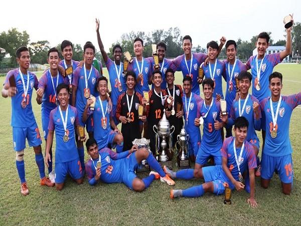 India under-16 team (Indian Football Team's Twitter)