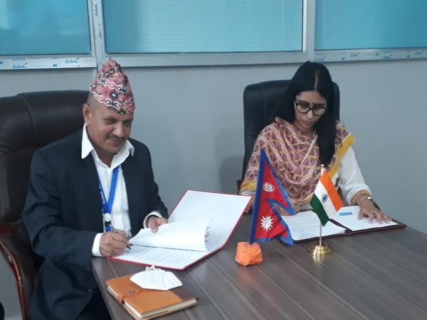 India will reconstruct a total of 56 higher secondary schools in seven districts of Nepal as part of post-earthquake reconstruction in the Himalayan nation with a grant of 2.95 billion Nepali rupees.