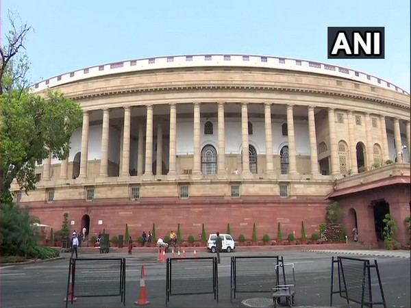 The Indian Parliament.