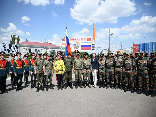 Indian soldiers have arrived in Russia for the Indra-2021 drills in the Volgograd Region on Monday. (Photo Credit: India Army)