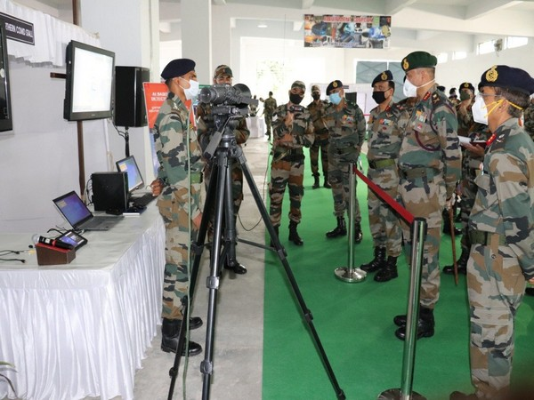 Indian Army organised 'Northern Command Equipment Display 2020' in Udhampur district on Wednesday. (Photo: Northern Command, Indian Army twitter)