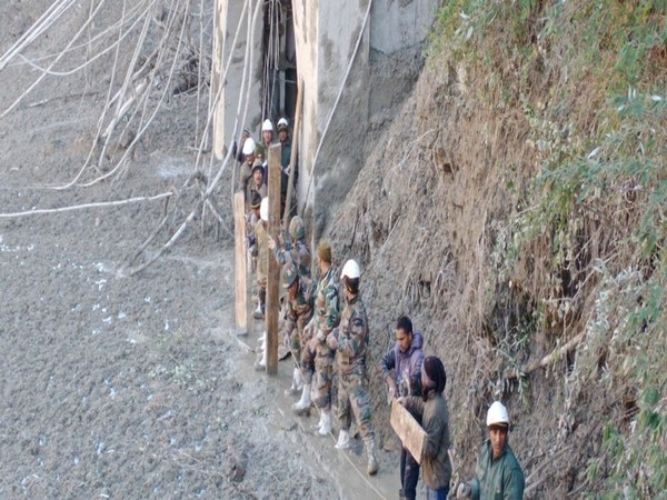 Visuals of rescue operations in Tapovan (Pic courtesy: Indian Army)