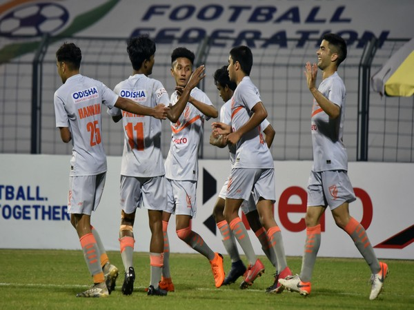 Indian Arrows players (Photo/ AIFF)