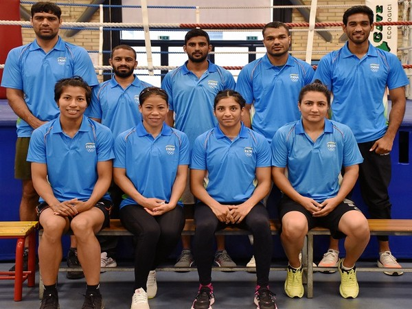 Indian boxing contingent (Image: BFI)