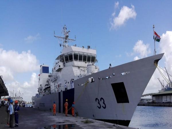 ICG Ship Vikram arrived in Toamasina on goodwill visit to Madagascar