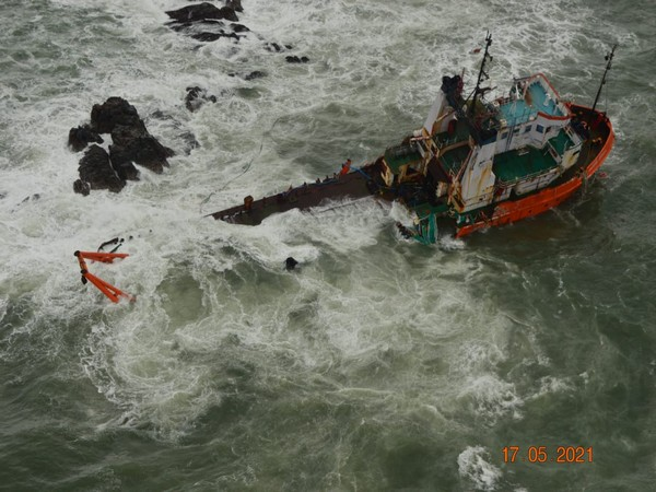 Visual shared by Indian Navy (Photo/Twitter)