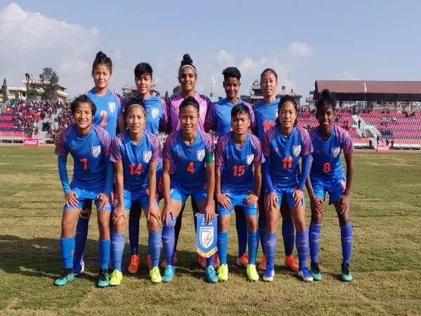 Indian women's football team ( photo/ Indian football team Twitter)