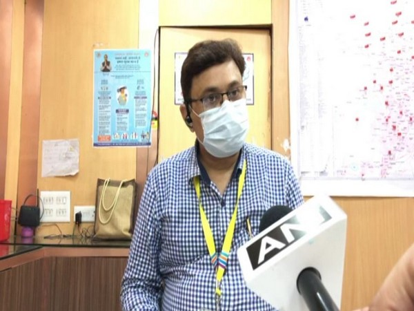 Indore Chief Medical and Health Officer Praveen Jadiya speaking to ANI on Monday. Photo/ANI