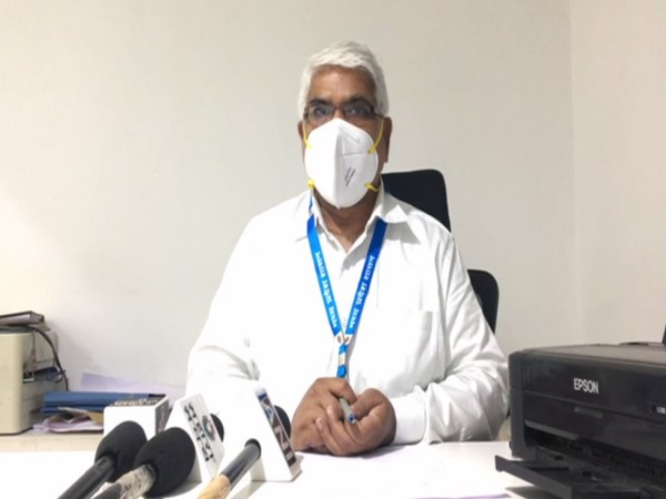 Indore CMHO, BS Setya speaking to media. (Photo/ANI)
