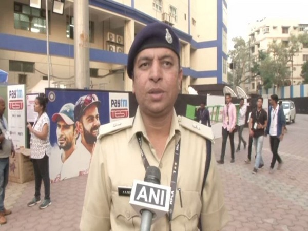 Additional Superintendent of Police, Anil Patidar talking to ANI in Indore. Photo/ANI