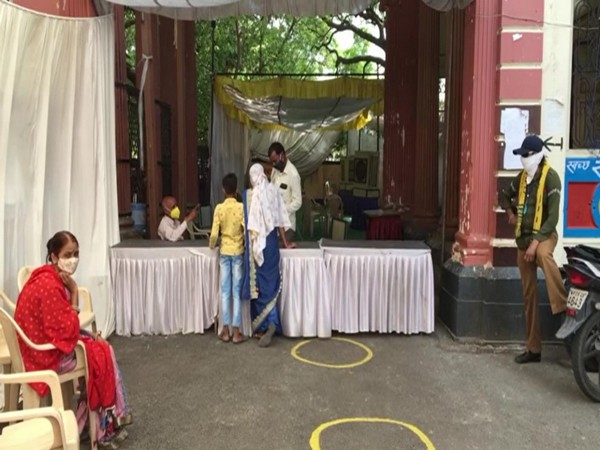 Visual of a vaccination centre in Indore. (Photo/ANI)