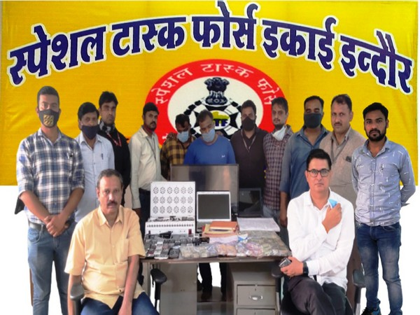 Visual of accused along with STF team in Indore