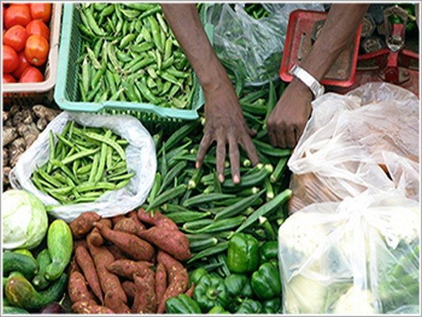 The last month's food inflation was 14.12 per cent as compared to 10.01 per cent in the month of November last year.